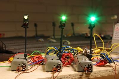 Märklin 7188 signal med LED